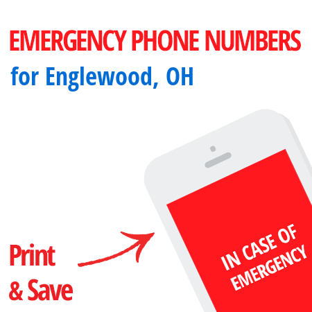 Important emergency numbers in Englewood, OH