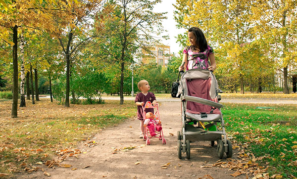 Is Your Child Ready For An Umbrella Stroller Child Safety Experts