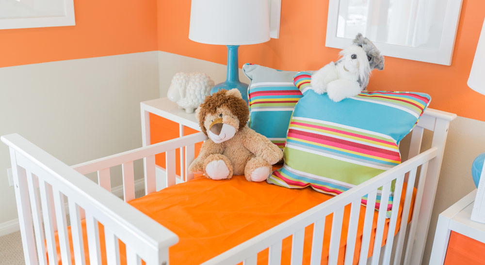 Orange nursery colors